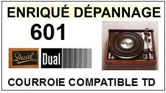 DUAL-601-COURROIES-ET-KITS-COURROIES-COMPATIBLES