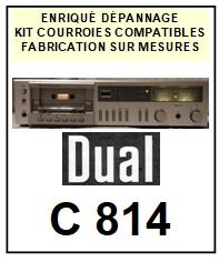 DUAL-C814-COURROIES-ET-KITS-COURROIES-COMPATIBLES