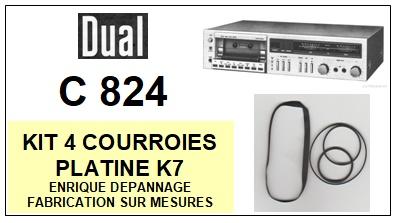 DUAL-C824-COURROIES-ET-KITS-COURROIES-COMPATIBLES
