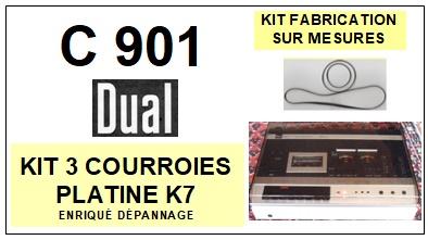 DUAL-C901-COURROIES-ET-KITS-COURROIES-COMPATIBLES