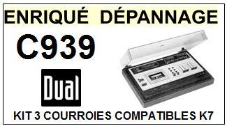DUAL-C939-COURROIES-ET-KITS-COURROIES-COMPATIBLES