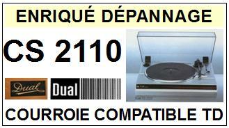 DUAL-CS2110-COURROIES-ET-KITS-COURROIES-COMPATIBLES