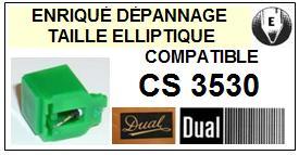 DUAL<br> CS3530 Pointe (stylus) elliptique pour tourne-disques <BR><small>sce 2015-08</small>