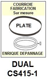 DUAL-CS415-1-COURROIES-ET-KITS-COURROIES-COMPATIBLES