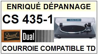 DUAL-CS435-1-COURROIES-ET-KITS-COURROIES-COMPATIBLES