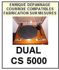 DUAL-CS5000-COURROIES-ET-KITS-COURROIES-COMPATIBLES