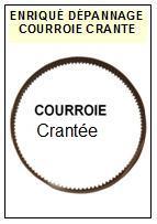 DUAL-CS505/2 CS505-2  PITCH-COURROIES-ET-KITS-COURROIES-COMPATIBLES