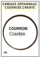 DUAL-CS505 dentée-COURROIES-ET-KITS-COURROIES-COMPATIBLES