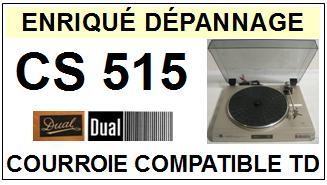 DUAL-CS515-COURROIES-ET-KITS-COURROIES-COMPATIBLES