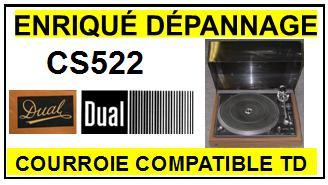 DUAL-cs522-COURROIES-ET-KITS-COURROIES-COMPATIBLES