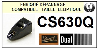 DUAL-CS630Q-POINTES-DE-LECTURE-DIAMANTS-SAPHIRS-COMPATIBLES