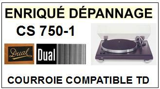 DUAL-CS750-1-COURROIES-ET-KITS-COURROIES-COMPATIBLES