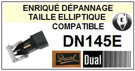 DUAL DN145E <br>Pointe Diamant Elliptique (stylus)<small> 2015-11</small>