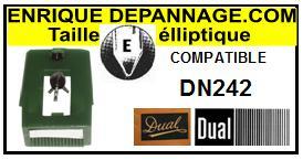 DUAL-DN242-POINTES-DE-LECTURE-DIAMANTS-SAPHIRS-COMPATIBLES