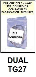 DUAL-TG27-COURROIES-ET-KITS-COURROIES-COMPATIBLES