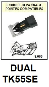 DUAL-TKS55E-POINTES-DE-LECTURE-DIAMANTS-SAPHIRS-COMPATIBLES