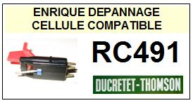 DUCRETET THOMSON platine  RC491    Cellule Compatible saphir sphérique