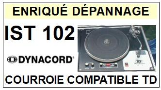 DYNACORD-IST102-COURROIES-ET-KITS-COURROIES-COMPATIBLES