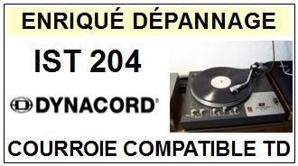 DYNACORD-IST204-COURROIES-ET-KITS-COURROIES-COMPATIBLES