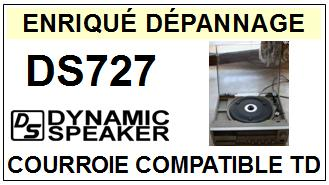DYNAMIC SPEAKER-DS727-COURROIES-ET-KITS-COURROIES-COMPATIBLES