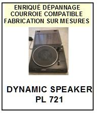 DYNAMIC SPEAKER-PL721-COURROIES-ET-KITS-COURROIES-COMPATIBLES