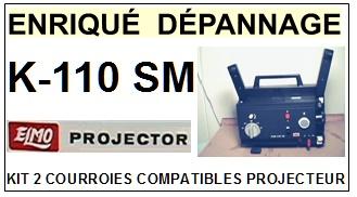 ELMO-K110SM K-110 SM 8MM-COURROIES-ET-KITS-COURROIES-COMPATIBLES