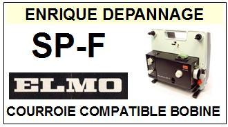 ELMO-SPF BOBINE SP-F SUPER 8-COURROIES-ET-KITS-COURROIES-COMPATIBLES