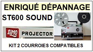 ELMO-ST600 SOUND-COURROIES-ET-KITS-COURROIES-COMPATIBLES