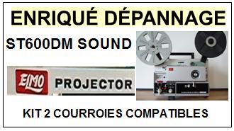 ELMO-ST600DM SOUND-COURROIES-ET-KITS-COURROIES-COMPATIBLES