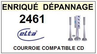 ELTA-2461-COURROIES-ET-KITS-COURROIES-COMPATIBLES