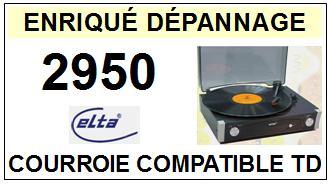 ELTA-2950-COURROIES-ET-KITS-COURROIES-COMPATIBLES