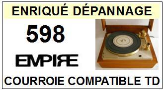 EMPIRE-598-COURROIES-ET-KITS-COURROIES-COMPATIBLES