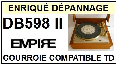 EMPIRE-DB598II-COURROIES-ET-KITS-COURROIES-COMPATIBLES