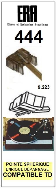 ERA 444 <br>Pointe sphérique pour tourne-disques (stylus)<small> 2015-11</small>