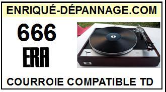 ERA-666-COURROIES-ET-KITS-COURROIES-COMPATIBLES