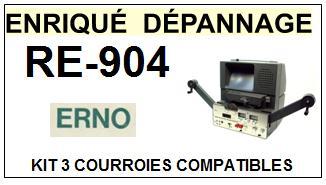 ERNO-RE904 RE-904-COURROIES-ET-KITS-COURROIES-COMPATIBLES
