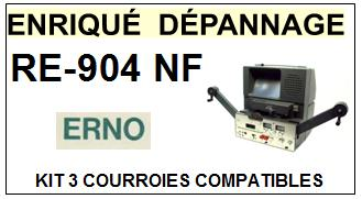 ERNO-RE904NF RE-904 NF-COURROIES-ET-KITS-COURROIES-COMPATIBLES