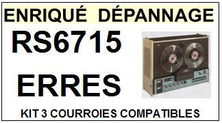 ERRES-RS6715-COURROIES-ET-KITS-COURROIES-COMPATIBLES