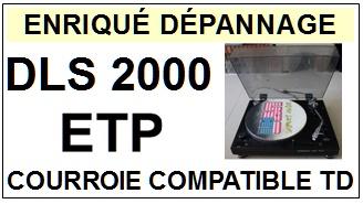 ETP-DLS2000-COURROIES-ET-KITS-COURROIES-COMPATIBLES