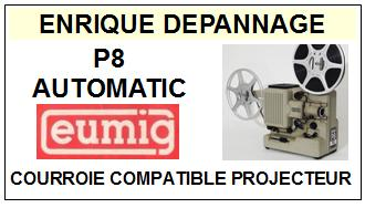 eumig p8 automatic courroie compatible projecteur 14 5 euros. Black Bedroom Furniture Sets. Home Design Ideas