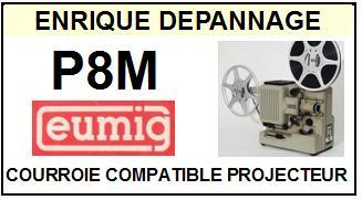 EUMIG-P8M-COURROIES-ET-KITS-COURROIES-COMPATIBLES