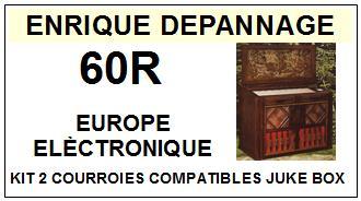 EUROPE ELECTRONIQUE-60R-COURROIES-ET-KITS-COURROIES-COMPATIBLES