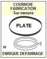 FLAT BELT FBM15.2  <br>courroie référence flat_belt (flat belt manufacturer number)<small> 2015-12</small>