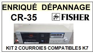 FISHER-CR35 CR-35-COURROIES-ET-KITS-COURROIES-COMPATIBLES