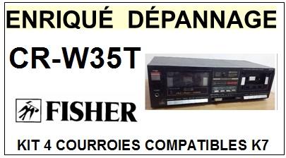 FISHER-CRW35T CR-W35T-COURROIES-ET-KITS-COURROIES-COMPATIBLES