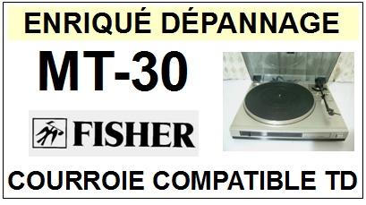 FISHER-MT30 MT-30-COURROIES-ET-KITS-COURROIES-COMPATIBLES