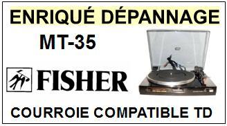 FISHER-MT35 MT-35-COURROIES-ET-KITS-COURROIES-COMPATIBLES
