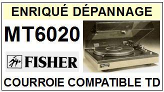 FISHER-MT6020-COURROIES-ET-KITS-COURROIES-COMPATIBLES