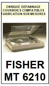 FISHER-MT6210-COURROIES-ET-KITS-COURROIES-COMPATIBLES