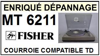 FISHER-MT6211-COURROIES-ET-KITS-COURROIES-COMPATIBLES